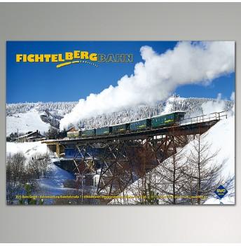 "Plakat - Winter ""Fichtelbergbahn"""