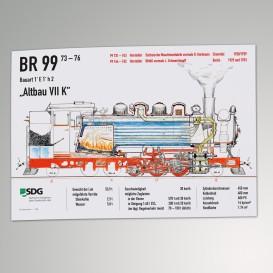 Plakat - Altbau VII K gezeichnet