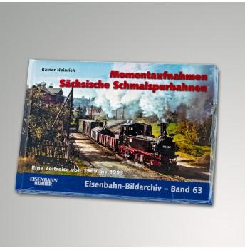 """Buch """"Momentaufnahmen Sächsische Schmalspurbahnen"""""""