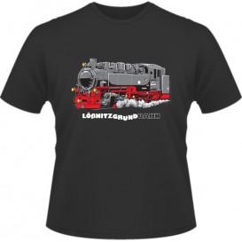 T-Shirt Erwachsener schwarz