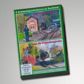 """DVD """"2 Schmalspurbahnen in Sachsen"""""""