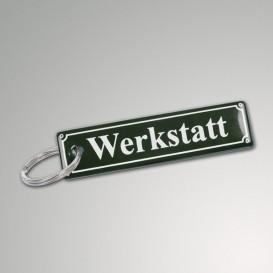 Emaille-Schlüsselanhänger 8 x 2 cm