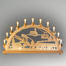 Lichterbogen Motiv Oberwiesenthal doppelt