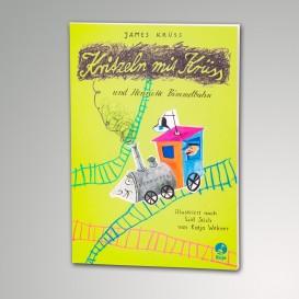 Malbuch Kritzeln mit Krüss und Henriette Bimmelbahn