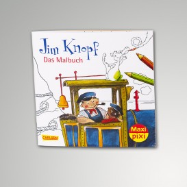 Jim Knopf Malbuch