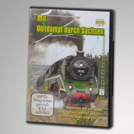 """NEU DVD """"Mit Volldampf durch Sachsen"""""""