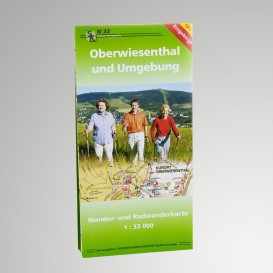 Wanderkarte Umgebung Oberwiesenthal
