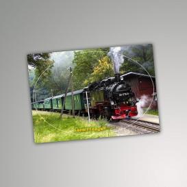 Aufkleber Postkarte Lößnitzgrund