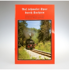 """Broschüre """"Auf schmaler Spur durch Sachsen"""""""