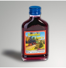 "Heidelbeerlikör ""Fichtelbergbahn"""