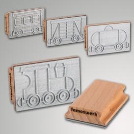 Stempel groß Lok/Wagen