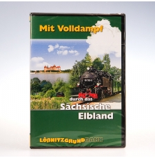 """DVD """"Mit Volldampf durch das Sächsische Elbland"""""""