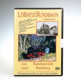 """DVD """"Lößnitzgrundbahn"""""""