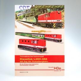 """Modellbogen """"Fichtelbergbahn"""""""