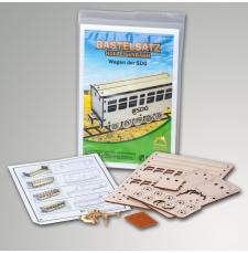 Bastselsatz Holzeisenbahn