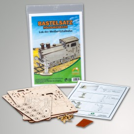 Bastelsatz Holzeisenbahn